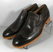 271100 SP50 Men's Shoes Size 9 M Brown Leather 1850 Series Johnston & Murphy