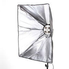 "50x70cm 20x28"" Camera Photo Studio Light Softbox For 4 Socket E27 Lamp Bulb Head"