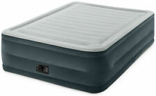 Intex 22 Queen Comfort Plush High Rise DuraBeam Air Mattress With Built-In Pump