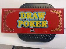 IGT Draw Poker Slot Machine Glass Piece