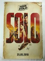 SOLO A STAR WARS STORY 2010s Original Turkish Sci Fi Movie Poster TEASER C8 Rare
