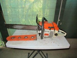 Vintage Stihl - 038 AV  Magnum - Electronic Quick Stop - Made in West Germany.
