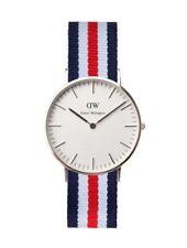 Reloj Unisex Daniel W., Esfera del Reloj 40mm plata Relojes de lujo #879