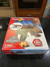 T Rex Jurassic World Dinosaur Puzz3D 3D Foam Puzzle 83 Pieces New Sealed