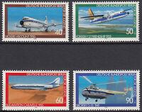 Briefmarken 1980 Berlin 617 618 619 620 postfrisch Jugendmarken Flugzeuge