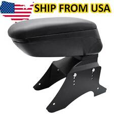 Sliding Armrest Content Box Central Console Black New Container Universal