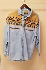 Shooter  Light Blue Jean Shirt