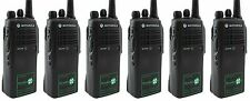 MOTOROLA GP340 UHF ATEX EX INTRINSICALLY SAFE WALKIE-TALKIE TWO WAY RADIOS x 6