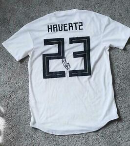 Kai Havertz FC Chelsea MATCH WORN & Signed Germany *RARE #23* Jersey Autographed