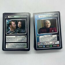 Star Trek CCG Holodeck Adventures incomplete with rares. Condition is New.