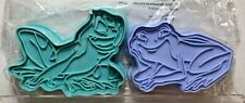 DISNEY CAKES AND SWEETS CUTTERS PRINCESS AND THE FROG TIANA NAVEEN EAGLEMOSS NEW