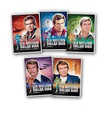 Six Million Dollar Man Complete Series Season 1-5 + Pilot TV Movies NEW DVD SET