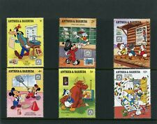 Walt Disney Cartoon stamp set from Antigua & Barbuda UMM.