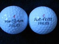"40 TOP FLITE  -  ""Z  BALATA"" - Golf Balls -  ""PEARL/A""  Grades."