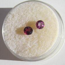 GEM Stones Garnet rhodolite Faceted round 4mm 1 stone G190