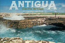 The Devil's Bridge, Natural Limestone Arch, Antigua, Caribbean Island - Postcard