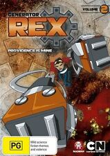 Generator Rex - Providence Is Mine : Vol 2 (DVD, 2012)-REGION 4--Free postage