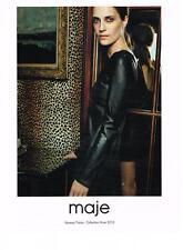 PUBLICITE ADVERTISING   2010   MAJE  haute couture VANESSA TRAINA