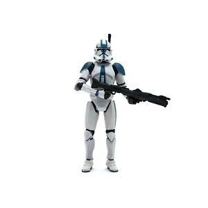 Star Wars Clone Trooper 501st Legion ROTS Figur Hasbro 3.75 Figuren Neuwertig