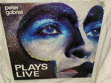 Peter Gabriel Plays Live Vintage Vinyl 2 LP Solo From Genesis 1983 VG+/EX