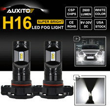 H16 5202 LED Fog Light Car Driving Bulbs DRL Super Bright White 6000K 2600LM CSP