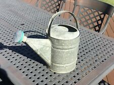 Vintage Amish #12 Galvanized Water Can No Leaks, No Dents Sprinkling