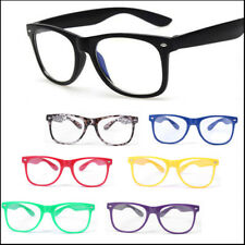 7 Color Fashion Retro Clear Lens Glasses Frame Eyewear Lot Fancy Dress Eyeglass