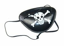 10 kids PIRATE EYE PATCH skull Funcy Dress party costume dress up children