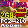 2GB AOpen Components miniPC Duo MP945-VDR MEMORY RAM