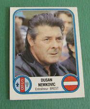 N°72 DUSAN NEMKOVIC BREST STADE BRESTOIS SB PANINI FOOTBALL 83 1982-1983