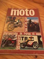 Magazine La moto n° 20 1971 Zolder BMW R67/2 Ossa Dieter Braun  ....