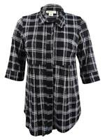 Style & Co. Women's Plus Size Printed Tunic Shirt