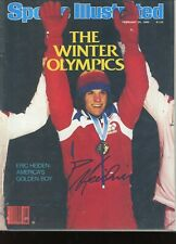 ERIC HEIDEN GOLD MEDALIST SPORTS ILLUSTRATED signed autographed