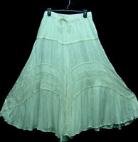 Skirt Renaissance Fair RenFair Old West Victorian Pioneer Mormon Trek one size