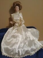 "Franklin Mint Victorian Lady  16"" Porcelain Doll"