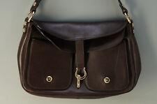 MINT Authentic kate spade Handbag Dark Brown Leather Free Shipping 723k19