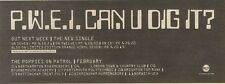 28/1/89Pgn06 Advert: Pop Will Eat Itself 'can U Dig It?' The New Single 4x11