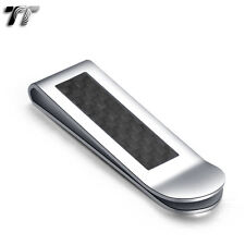 UNIQUE T&T FIBER Stainless Steel MONEY CLIP MC10