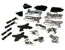 T8683Silver Integy Billet Machined Suspension Kit for Hpi Ken Block Wr8 3.0