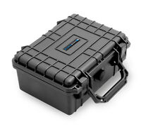 """CM 9"""" Waterproof Case fits Recorders, Microphones, Mixers, Electronics and More"""