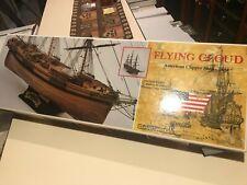 C. Mamoli 1:96 Scale Flying Cloud American Clipper Ship 1851