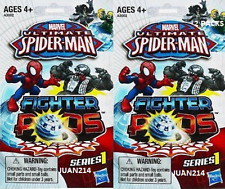 Marvel Ultimate Spider-Man Fighter Pods Series: 1 by Hasbro TWO Packs