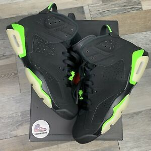Nike Air Jordan 6 Retro Electric Green CT8529-003 Size 11