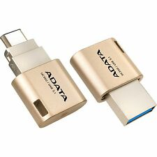 ADATA UC350 16 GB USB Typ-C, USB-Stick, gold