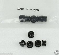 BICYCLE BIKE STEEL SINGLE CHAIN RING CHAINRING CRANK NUTS BOLTS SCREWS - BLACK