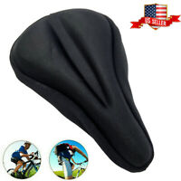 Bike Bicycle Cycle Extra Comfort Gel Pad Cushion Cover For Saddle Seats Soft US