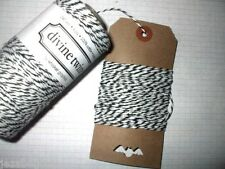10mt 'Licorice' DIVINE BAKERS TWINE   Packaging Parties Embellishment