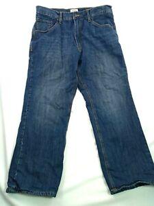 St. John's Bay Size 36/30 Men's Jeans Insulated Straight Leg Blue Pockets