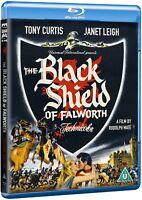 The Black Shield of Falworth (1954) Blu-Ray Import BRAND NEW - USA Compatible