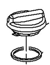 VAUXHALL OIL FILLER CAP - GENUINE NEW - 55566555